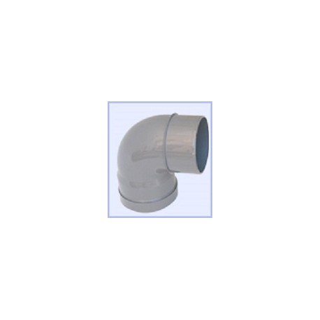 COUDE PVC 90°