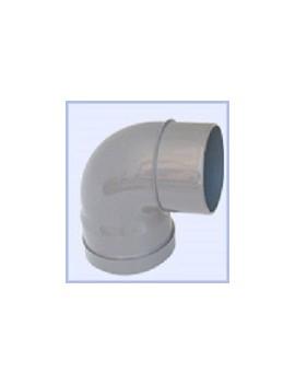 Coude PVC 100-90