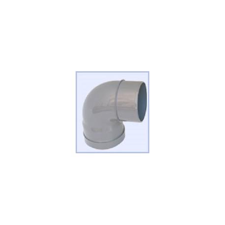 Coude PVC 110-90