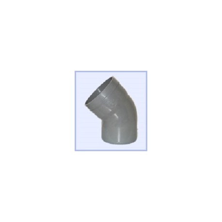 Coude PVC 75-45