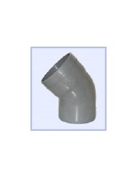 Coude PVC 90-45