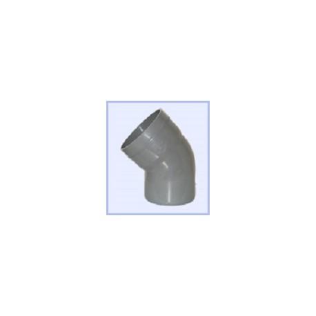 Coude PVC 100-45
