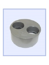 REDUCTION TAMPON PVC 100-40-40