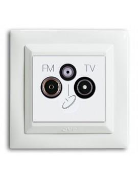 Prise séparatrice TV/FM/SAT