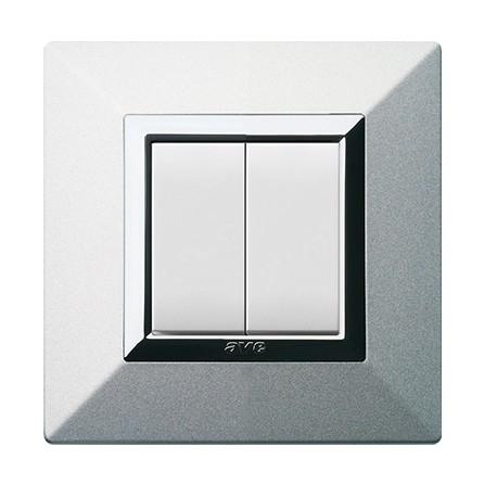 Interrupteur Aluminium Natural