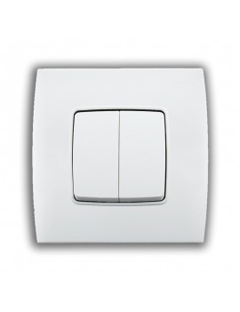 Interrupteur Double S/A 10AX-250V