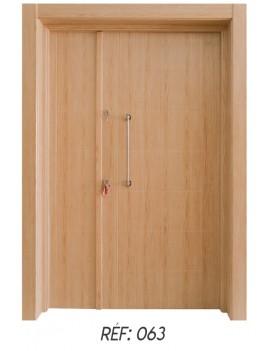 porte extérieur bois massif 063