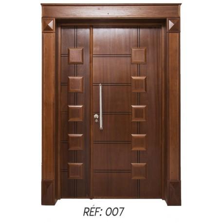 porte extérieur bois massif 007