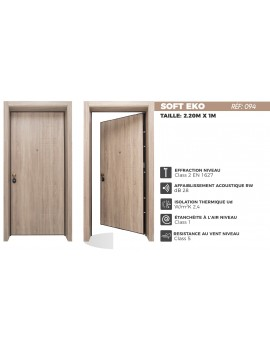 porte extérieur blindée soft eko 094