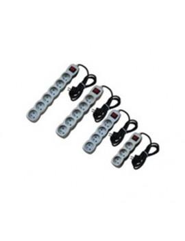 Bloc De Couleur De 3 Prises De 3 Prises 2P+T Avec Interrupteur 1.5m 3G1